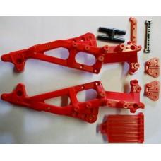 Tamiya Blackfoot No. 0115 Red Chassis Original