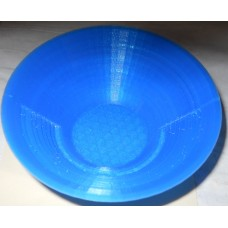 Collectibles No. 0006 small gold pan 3D printed 3 inches round blue or other color $5.00 EA or 3 for $10