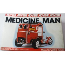 Advent No. 3134 Medicine Man 1/25 Scale Model C-Cab Delivery Van
