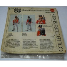 Airfix No. C101S British Coldstream Guard 1815 Scale Model