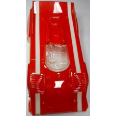 Jerobee No. 0006 Porsche Painted Lexan Body Red and White 1978-1