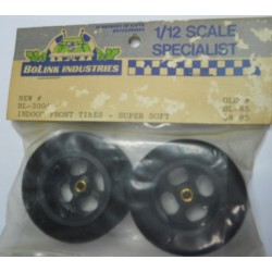"Bolink No. 3301 1/12 "" Wide Rear Tires Soft"