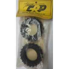 CRP No. 4211 Tires Rear Tall Spikes Tamiya Hot Shot