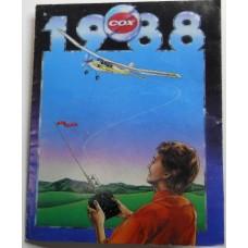 COX Airplane No. 0034 Catalog 1988 Color