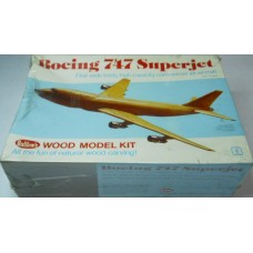 Guillows No.151 Boing 747 Superjet Wood Model Kit