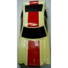 La Trax No. 0007 Ford Cobra 1/12 Scale Red Body