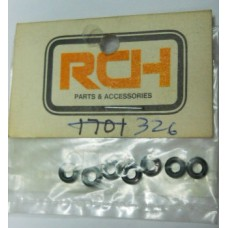 RCH No. 326 Rubber O Rings Rough Rider