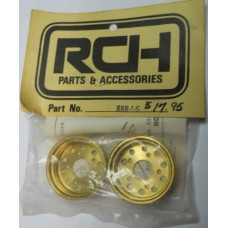 RCH No. 221 Gold Rear Rims Rough Rider with Holes