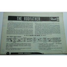 Revell No.0011 Scale Model Instructions The Rodfather