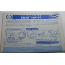 Revell No.0012 Scale Model Instructions V W Valvoline Baja Racer