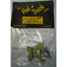 The Hot Trick Stuff No. 007G Gold Yokomo Front Shock Mount for Associated