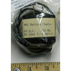 AC Electronics No. DC-0250 MRC 6 V AC 250 mA Adapter Old MRC Plug for lead Acid