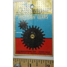 AFX No. 0008 Gear 10 T Pinion Metal K&B Challenger 3-32 Press Fit