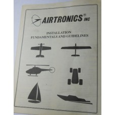 Airtronics No. 0001 RC Instructions Installation Fundamentals and Guideline