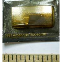 Amrac No. 7017 HO Ground Effect Wings Chrome Metal Pair