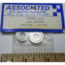 Associated No. 2222 Ball Bearing 5-8 OD 1-4 ID