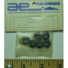 Associated No. 3722 Rubber Grommet Black