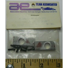 Associated No. 5542 Aluminum Blocks for Inner Drive Shaft with Screws