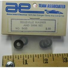 Associated No. 3435 Belleville Washer and Shim Set
