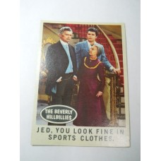 Filmways Beverly Hillbillies Collector Card No. 57
