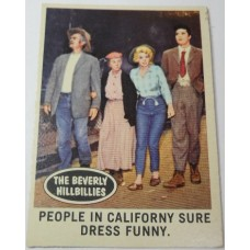 Filmways Beverly Hillbillies Collector Card No. 01