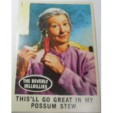 Filmways Beverly Hillbillies Collector Card No. 51