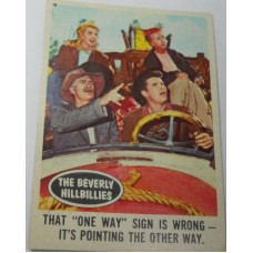 Filmways Beverly Hillbillies Collector Card No. 59