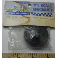 Bolink No. 5652 Spur Gear Black 52 Tooth Hex Hole