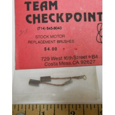 Checkpoint No. 0002-B Stock Motor Replacement Brushes with Tab Pair