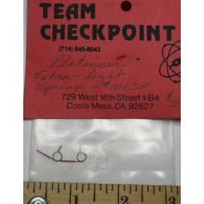 Checkpoint No. 0101 SP Springs Motor Platinum Extra-Light Pair