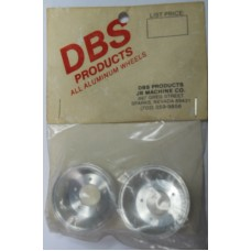 DBS Products No.0003 Rims Rear Chrome Aluminum Pair for Sand Scorcher