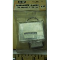 Du-bro No. 144 Mini Muff-L-Air for Engines .09 to .25