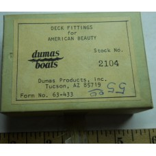 Dumas No. 2104 Deck Fittings for American Beauty