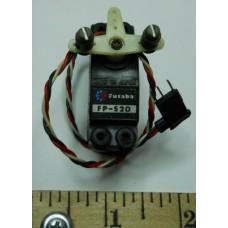 Futaba No. 0010 Servo FP-S20 Lightweight Old Plug