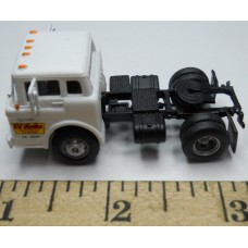 Herpa No. 0012 HO 1-87 Truck Ford Di Salvo White Cab Black Chassis