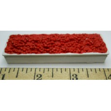 Herpa No. 0016 HO 1-87 White Container with Tomatoes Red