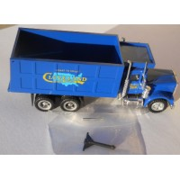 Herpa No. 0057 HO 1-87 Truck International Blue Cleveland Logo