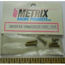Hot Metrix No. 9019 Screws 2mm-Self Tap Set