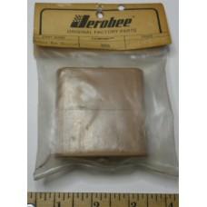 Jerobee No. 4050 Battery Box Receiver Tan Plastic
