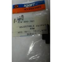 Kraft No. 200-141 Adjustable Output Arm KPS 1411,1511,& 20 Servos