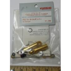 Kyosho No. PG -14 Oil Damper Set Rear Pair Gold Shocks Progress Gallop 4 WDS