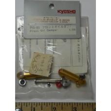 Kyosho No. PG -65 Oil Damper Set Front Pair Gold Shocks Progress Gallop 4 WDS