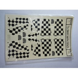 Micro Scale Decal Sheet No. 32-16 P-51 Checker Tails