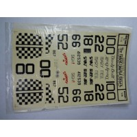 Micro Scale Decal Sheet No. 32-26 Checker Tailed P-51's