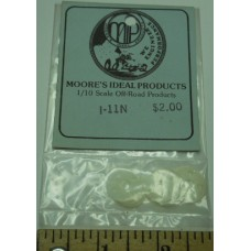 MIP No. I-11N Shims Small Round Hop Up Clear