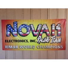 Novak Team Race Banner