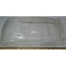 Parma No. 0004 Body Clear Lexan 1970's Camaro Sanded 1-12 Scale