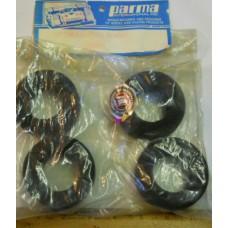 Parma No. 12005 Tires Sponge Slick Optima Trued Set of 4