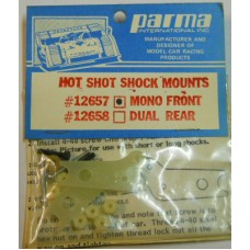 Parma No. 12657 Front Mono Hot Shot Shock Mounts Fiberglass