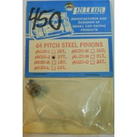 Parma No. 6020-J Gear Pinion Steel 64 Pitch 27 Tooth with Set Screw